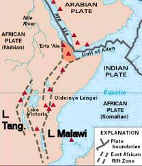 africa map great rift valley the pan historian march 2006