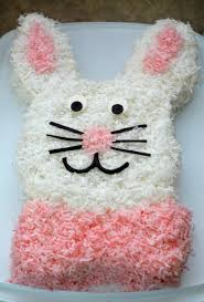 Easy Easter Cake Decorations by Easy Easter Bunny Cake