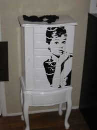 Large White Jewelry Armoire Furniture Full Mirror Jewelry Armoire And White Jewelry Armoire
