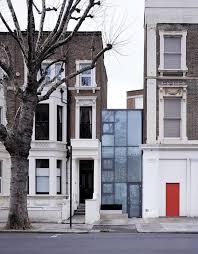 Modern Narrow House Exterior Design Of House Exterior Modern With Narrow Glass House