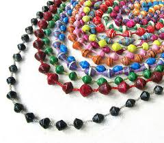making necklace with bead images How to make paper beads and jewelry tutorials the beading gem 39 s jpg