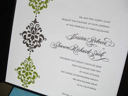Damask Wedding Invitations Harropnxas Damask Wedding A Fine Wordpress Com Site