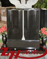 tombstone engraving quality bible with angle engraving shanxi black absolute