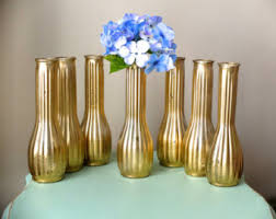 Gold Tall Vases Beautiful Metallic Gold Round Vase Gold Wedding Vases
