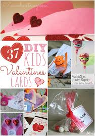 kids valentines cards 37 diy kid s s day cards for your kids and their friends