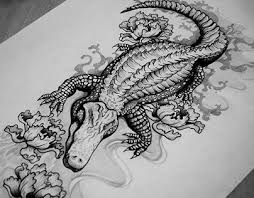 35 awesome alligator tattoo designs