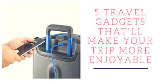 Travel Gadgets images 5 travel gadgets that will make your trip more enjoyable png