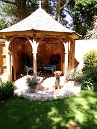Gardens With Summer Houses - cedar summerhouses gazebos bespoke garden structures