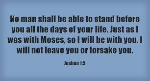 5 powerful bible verses book joshua