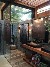 outside bathroom ideas fascinating outside bathroom design take it 10 ideas for