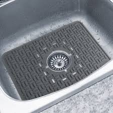 Rubber Sink Mats Kitchen by 15 Rubber Sink Mat Protectors 15 Pcs Black Sink Rubber