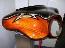 custom harley bagger paint by studio2 custom harleys the common