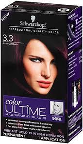 saphire black hair buy schwarzkopf ultime hair color cream 3 3 amethyst black 2 03