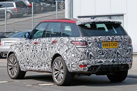 land rover velar svr range rover sport svr beefs up for 2017 by car magazine