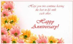 happy married greetings both of you two be happy happy anniversary to two special