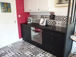 cuisine carreaux ciment cuisine avant apr s noir ulta mat cr dence carreaux ciment leroy