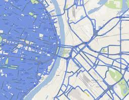 Map Street View Google Maps Street View Coverage Of St Louis Vs East St Louis