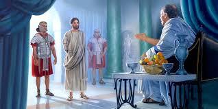 imagenes de jesus ante pilato envían a jesús ante poncio pilato la vida de jesús