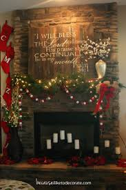 best 20 christmas fireplace mantels ideas on pinterest decorate in love with this i would love this above my mantle year round