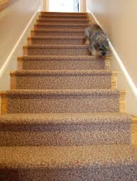 Carpeting For Basements by Carpet Runner For The Oak Stairs And Astro Retro Renovation