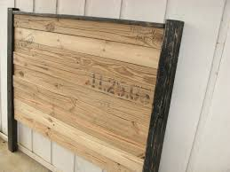 awesome making barn wood headboard modern house design