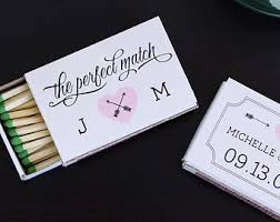 wedding favor matches wedding matches etsy