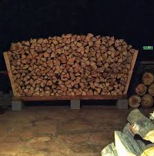 Outdoor Firewood Storage Rack Plans by Free Firewood Rack Plan Build It For 42 Including Lumber