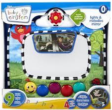 baby car mirror with light baby einstein lights melodies mirror gift ideas