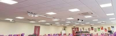 office fluorescent light alternative eccp 600mm square panel qe global