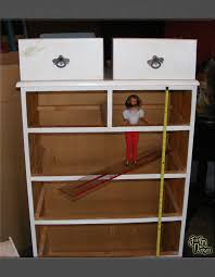 Home Design Homemade Barbie Doll by Building A Barbie Doll House With A Recycled Dresser From Just U0027in
