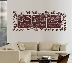 wall decals quotes inspiration wedgelog design image of wall art decals quotes