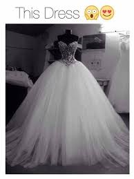 poofy wedding dresses dress wedding dress white bling beautiful gown poofy