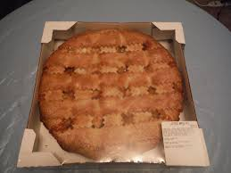 Apple Pie Thanksgiving Entire Container Of Costco U0027s Lattice Apple Pie Challenge
