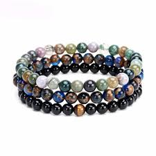mens bracelet with stones images Shop for bracelets men 39 s bracelets at ekz jewelry co jpg