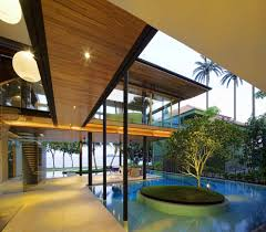 home design modern tropical environmentally friendly modern tropical house in singapore