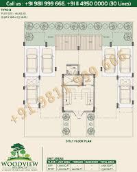 Stilt House Floor Plans by Lotus Greens Independent Floor Plan