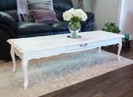 white shabby chic coffee table rascalartsnyc