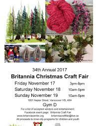 34th annual britannia christmas craft fair daily hive vancouver
