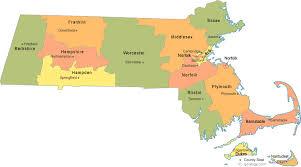 map of massachusetts counties massachusetts county map