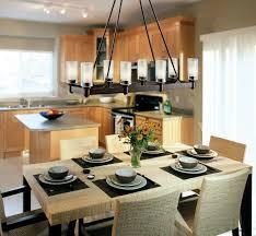 Rectangle Dining Room Light Modest Arturo 8 Light Rectangular Chandelier Pics For Gt Rectangle