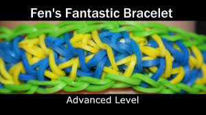rainbow loom fen u0027s fantastic bracelet youtube