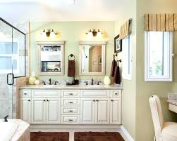 double mirrored bathroom cabinet beach bathroom vanity mirrors double mirror with frames master