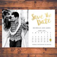 Digital Save The Date Save The Date Invitation Calendar Save The Dates Faux Gold Invite