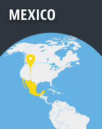 mexico in the world map mexico world monitor