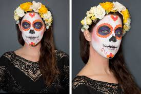 Halloween Makeup For Kids Witch Sugar Skull Makeup How To How To Paint A Sugar Skull Face