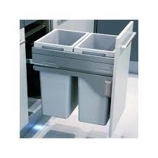 poubelle de cuisine poubelle de cuisine encastrable poubelle bacs 70l gris clair