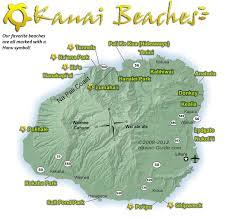 Hawaii Island Map Kauai Beach Map Jpg 1 200 1 129 Pixels Kauai Trip Pinterest