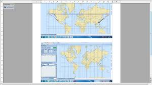 Uic Map Plotting Flight Route In Spherical Mercator Projection Map Suite
