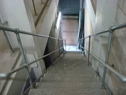 Galvanised Handrail Handrail Standards Load Table Morris Fabrications Ltd