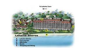 Maui Hawaii Map Lahaina Shores Resort Location Map U0026 Directions